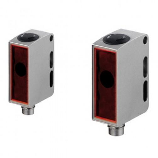 Оптические датчики Leuze Electronic в раздельном прямоугольном корпусе серии 55 приемник-передатчик
