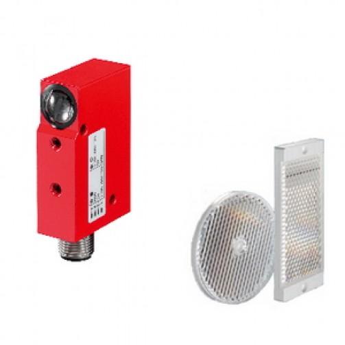 Оптические датчики Leuze Electronic в прямоугольном корпусе серии 18 с рефлектором