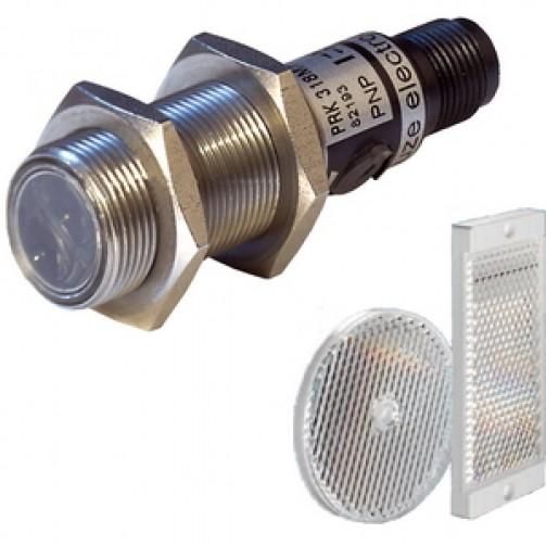 Оптические датчики Leuze Electronic в цилиндрическом корпусе с рефлектором