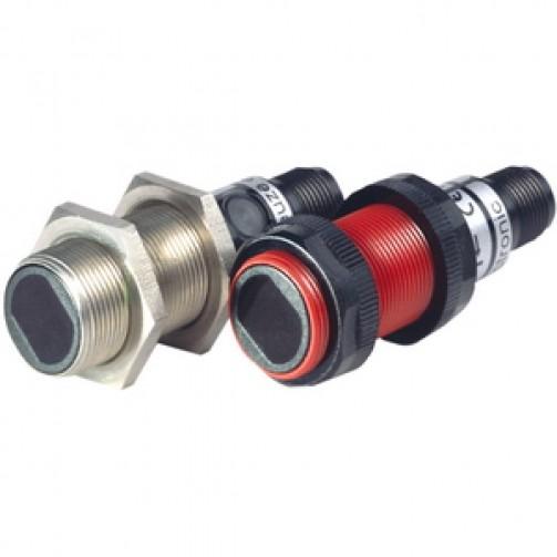 Оптические датчики Leuze Electronic в цилиндрическом корпусе с диффузионным отражением от объекта
