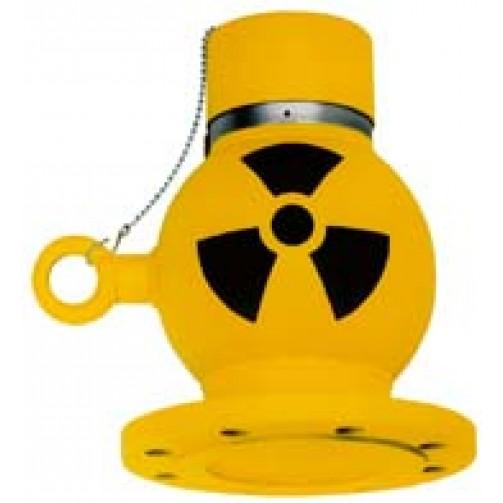 Контейнер QG 020/100 для радиоактивных изотопов